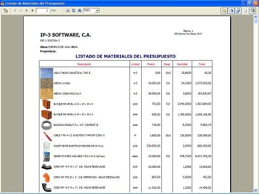 Ip3 control de obras for Presupuesto de obra de construccion pdf